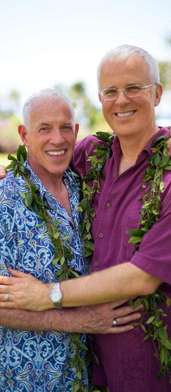 kauai photographers - kauai gay weddings