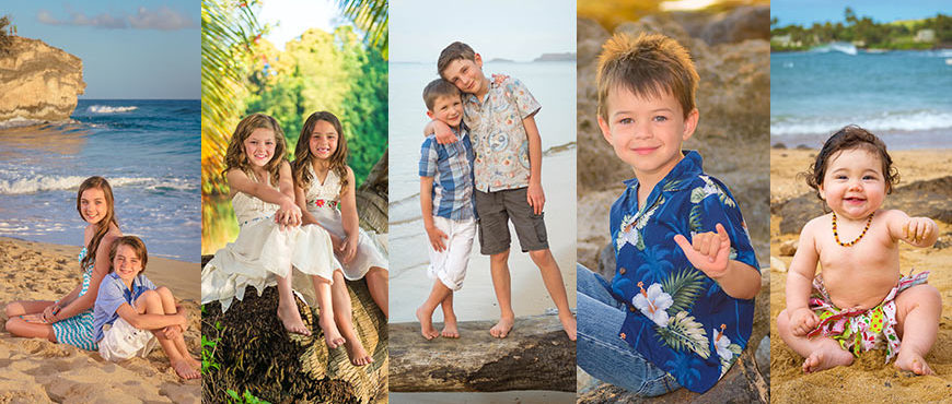 Tips for Portrait Sessions with Kids - Kauai Photographers