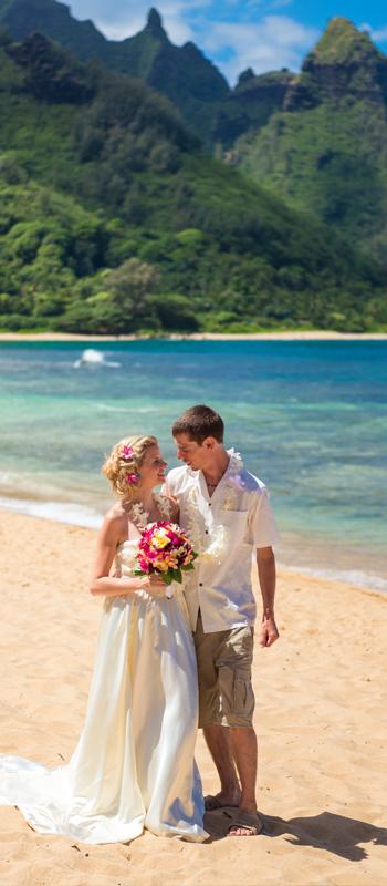 kauai photographers wedding kee haena