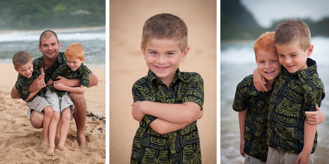 kauai photographer - kids portraits