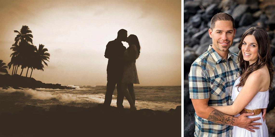 kauai photographers honeymoon portraits