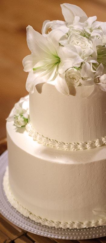 kauai wedding cake photograph