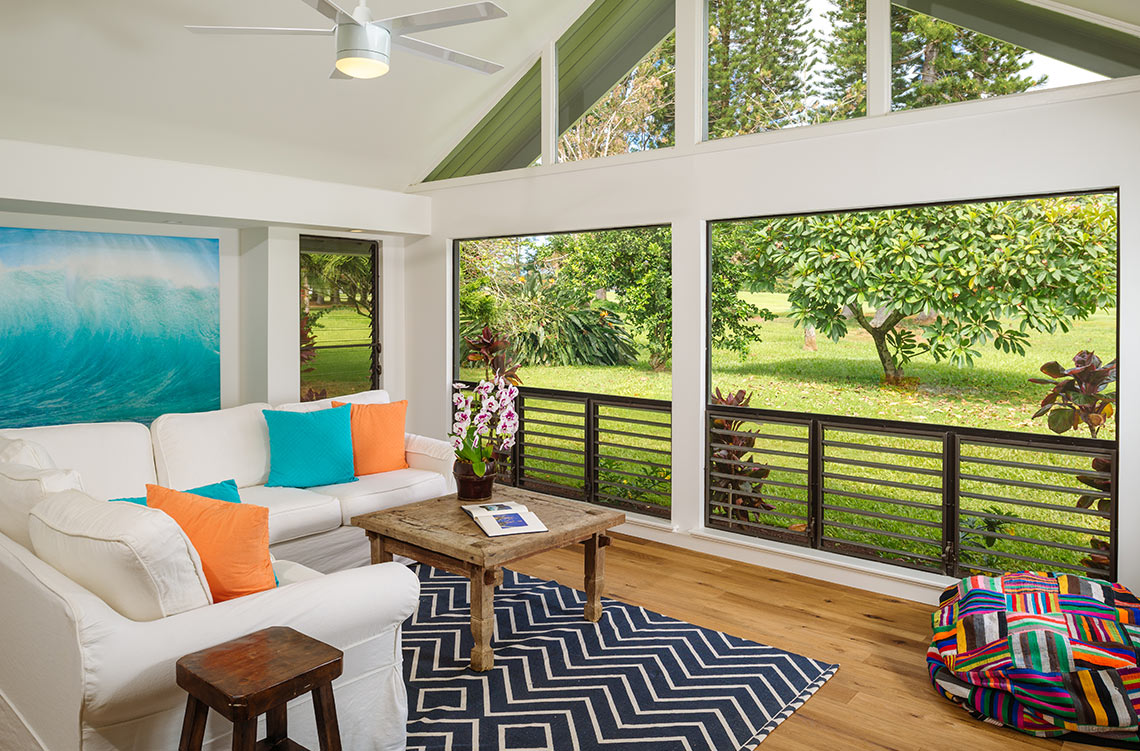 kauai modern real estate photography by swell photography