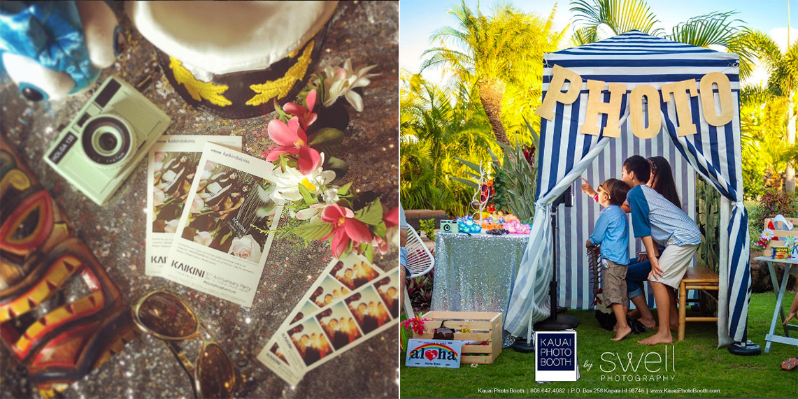 kauai photo booth by swell photography