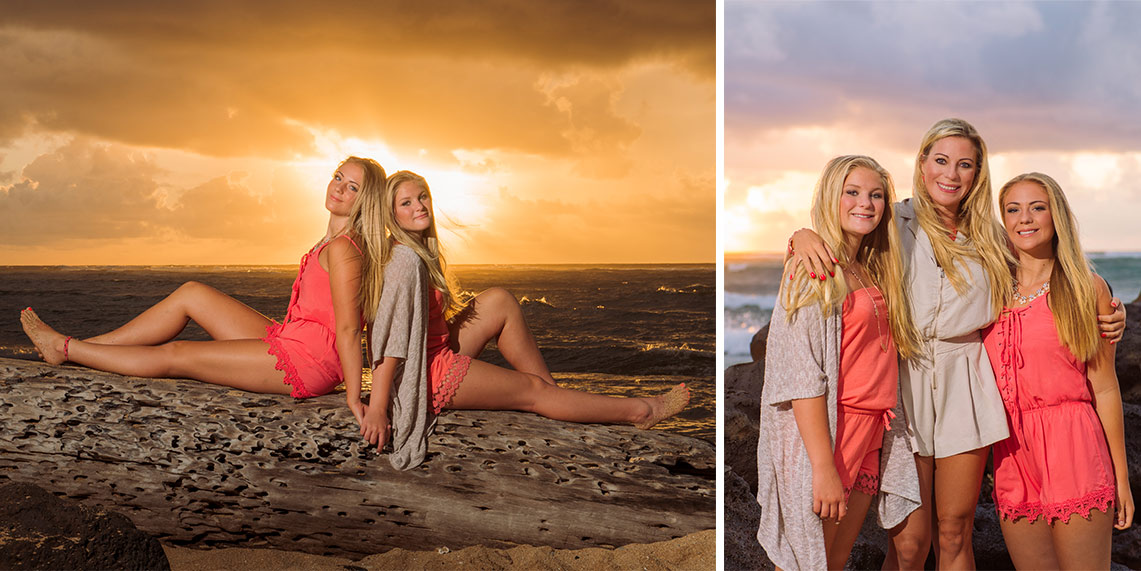 kauai photographers waipoli beach resort portraits