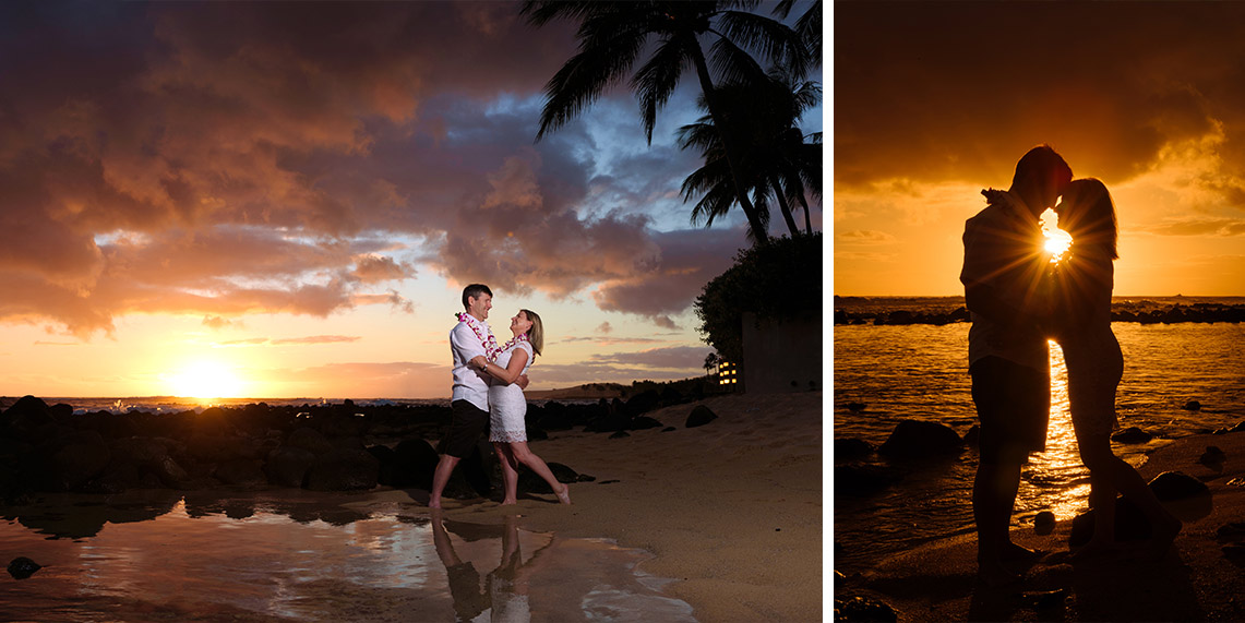 swell photography sunset portraits kauai