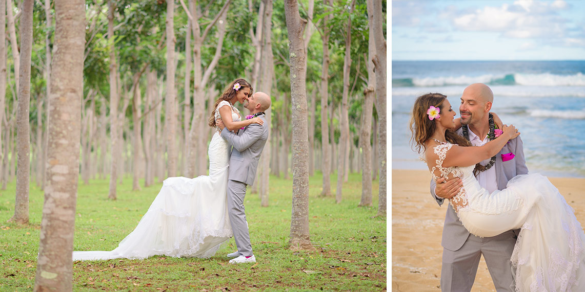 wedding photographers in kauai swell photography